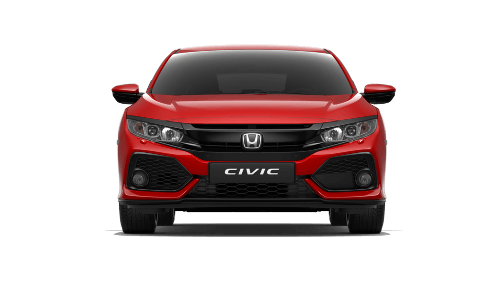 Civic rood voorkant