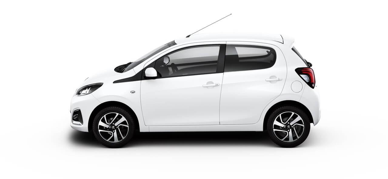 Compacte stadsauto Peugeot 108 private lease automaat