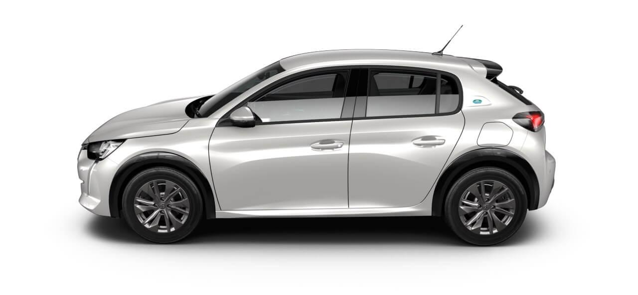 Sportieve nieuwe elektrische Peugeot 208 private lease 2019