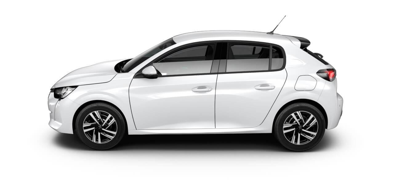 Sportieve nieuwe Peugeot 208 private lease