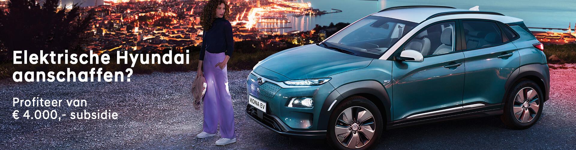 Subsidie voor elektrisch rijden - Hyundai Wittenberg